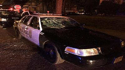 Milwaukee residents demonstration turns violent after police shoot armed man