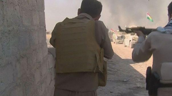 Les Peshmergas combattent à 40 km de Mossoul