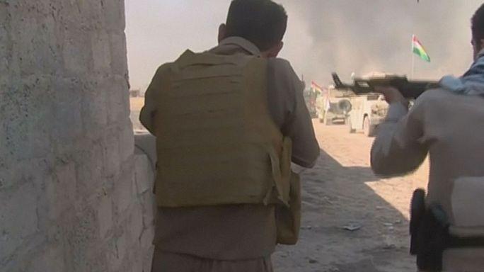 البشمركة تستعيد عدة قرى في جنوب الموصل