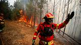Portugal cierra luchando contra el fuego su semana más aciaga