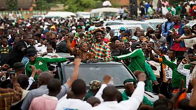 Zambia elections: Lungu stretches lead as vote count continues