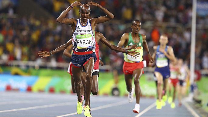 Olympia-Notizen: Mo Farahs Olympiasieg für die Tochter, US-Schwimmer ausgeraubt