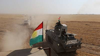 Kurdish Peshmerga forces in fresh push to retake Mosul from ISIL