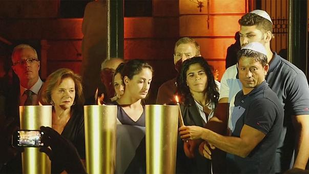 A müncheni olimpia izraeli áldozataira emlékeztek Rióban