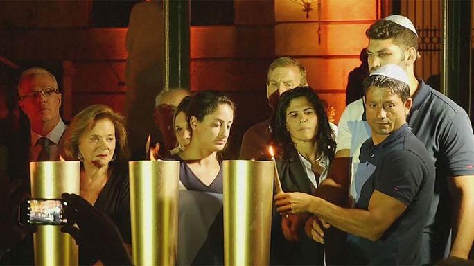 В Рио-де -Жанейро почтили память убитых в 1972 израильских олимпийцев
