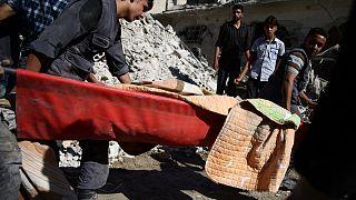 Siria, decine di morti nei bombardamenti sulla regione di Aleppo