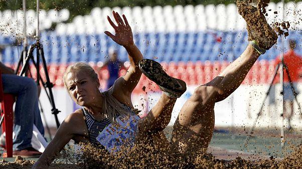 داریا کلیشینا، قهرمان پرش طول روسیه در المپیک ریو می پرد
