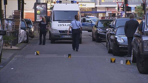 One injured in shooting and knife attack in Germany