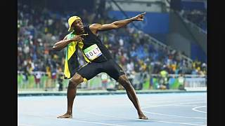 Usain Bolt  win historic Olympic 100m gold in Rio