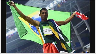 Rio : le Sud-africain  Van Niekerk bat le record du monde de 400 m, 17 ans après le premier