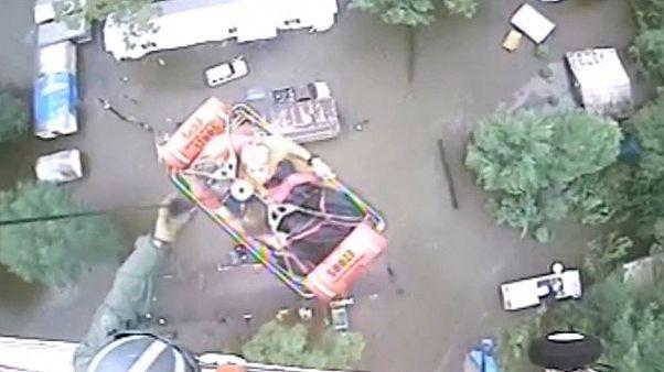 Etats-Unis : inondations en Louisiane, le bilan s'alourdit