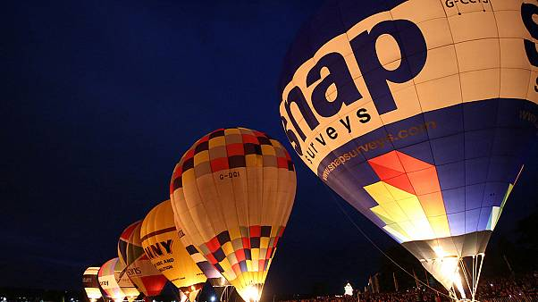UK Balloon Festival - Europe's largest hot air balloon festival held