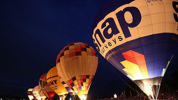 Nel Regno Unito il più grande festival di mongolfiere in Europa