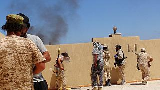 Libyan pro- government forces report making further advances in Sirte
