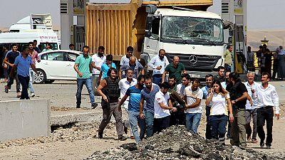 Six dead in car bombing in southeast Turkey