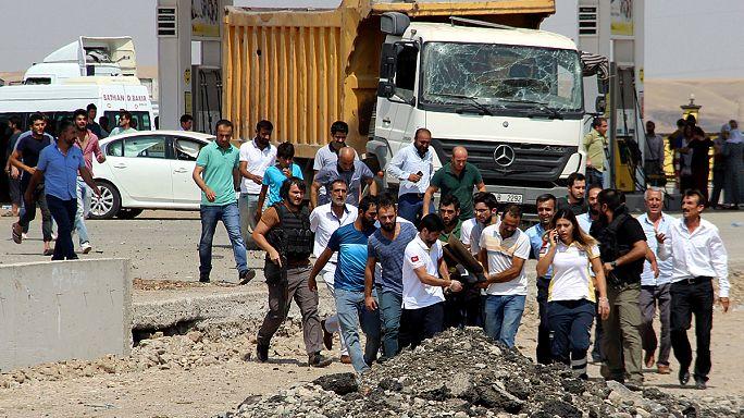Diyarbakır'da Trafik Denetleme Amirliği'ne kanlı saldırı
