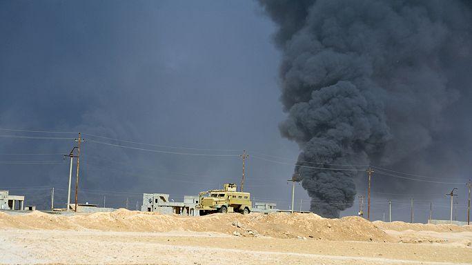 """البيشمركة تعلن استعادة 12 بلدة وقرية من التنظيم """"الدولة الإسلامية"""""""