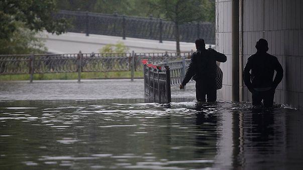 A Mosca le piogge più abbondanti del secolo