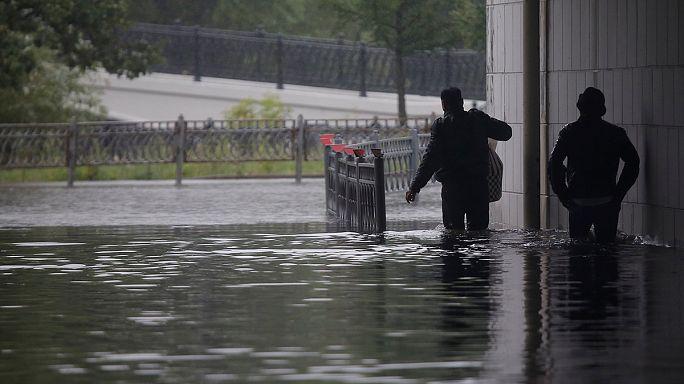 Áradások okoznak gondokat Moszkvában