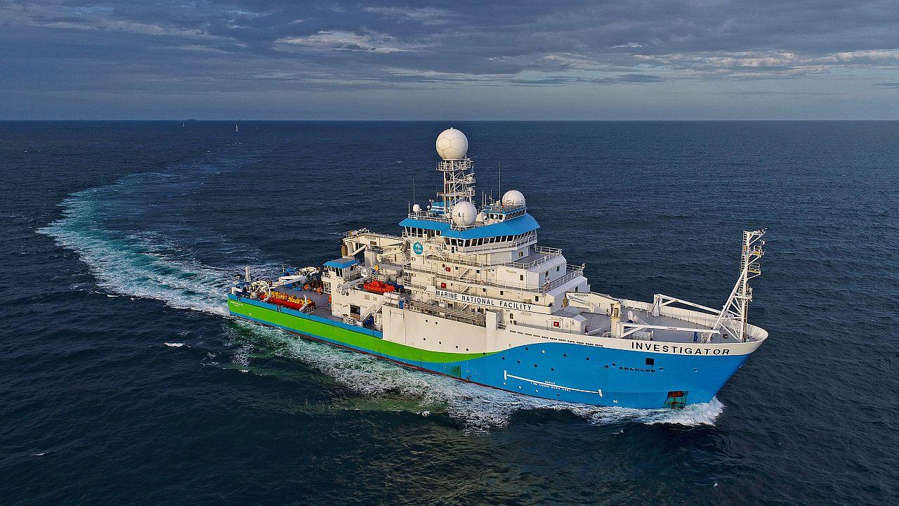 Image: CSIRO research vessel Investigator