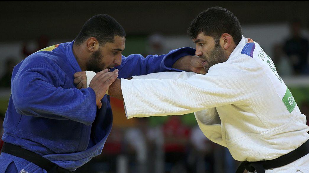 مصارع الجيدو إسلام الشهابي يعود إلى مصر بعد رفض مصافحة منافسه الإسرائيلي