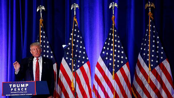 Trump outlines anti-terror plan, Biden says Republican candidate is threat to national security