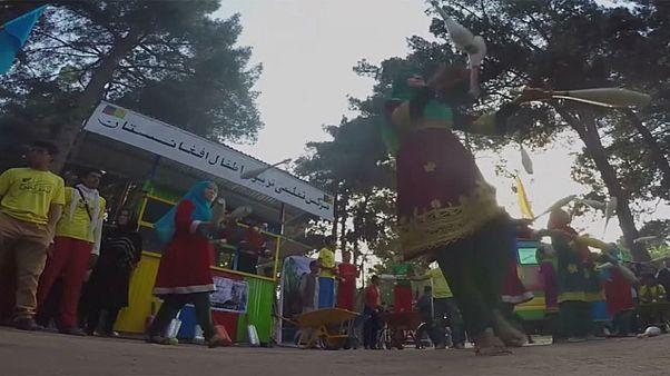 Afghanistan : le cirque des enfants apporte de la joie à Kaboul