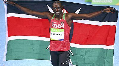 Rudisha conserve sa médaille d'or sur 800 mètres.