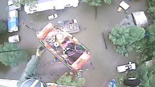 عمليات إنقاذ مؤثرة بسبب فيضانات لويزيانا