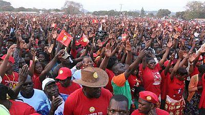 Zambie : une manifestation de l'opposition contre la réélection d'Edgar Lungu
