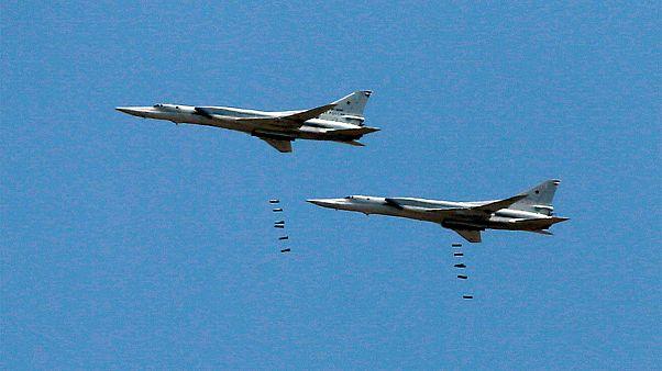 حمله بمبافکنهای روسیه به مواضع «داعش» از پایگاه هوایی همدان