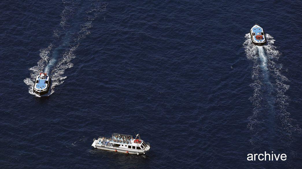 مقتل ثلاثة اشخاص واصابة ثلاثة آخرين في اثر تصادم بين قاربين بجزيرة ايجينا اليونانية.
