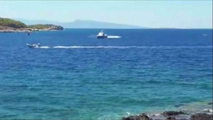 یونان: ۴ کشته و ۵ مجروح در برخورد دو قایق در نزدیکی آتن