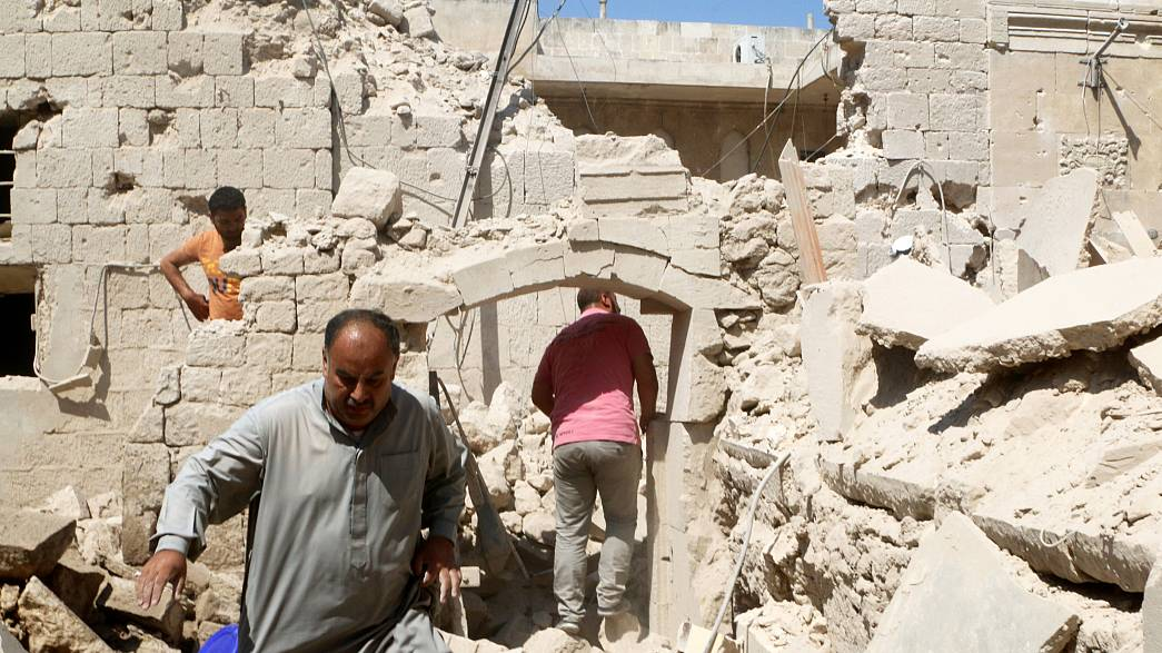 Авиаудары по сирийскому Алеппо: страдают местные жители