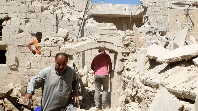 Halepli sivillere bomba yağarken, BM'den 'endişeliyiz' açıklaması