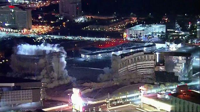 Felrobbantották a Las Vegas-i Riviera Hotelt