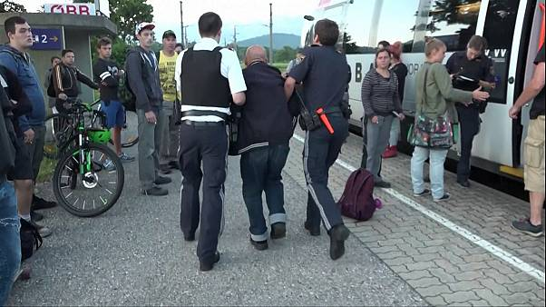 German launches knife attack on passengers on board an Austrian train