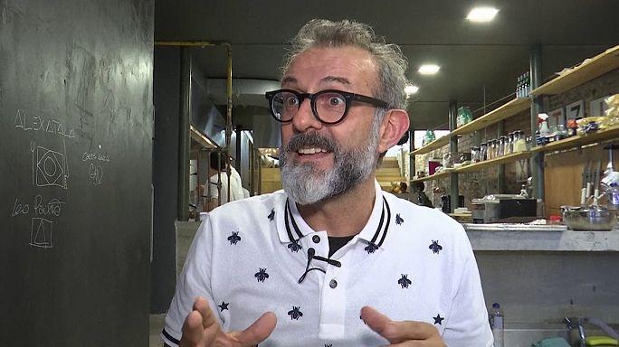 """Massimo Bottura: """"Más rápido, más alto, más fuerte... y más solidario"""" en Río 2016"""