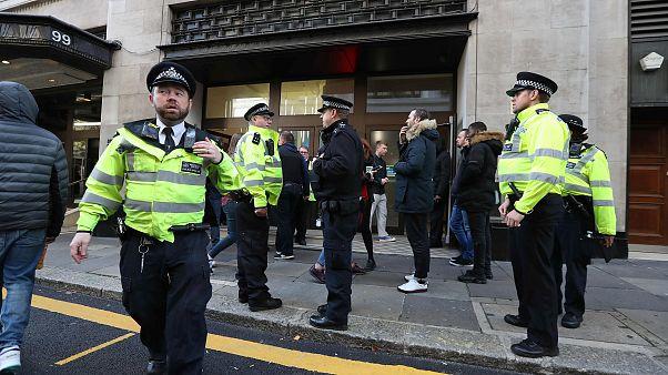 Image: BRITAIN-INCIDENT-CRIME-COMPANY-SONY