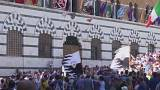 Italy: last-minute preps for Siena's famous Palio race