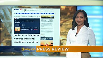 Press Review of August 17, 2016 [The Morning Call]