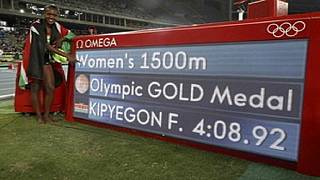 Another gold for Kenya in the 1500m women's race