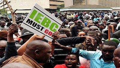 Kenya:  l'opposition exige à nouveau la dissolution de la Commission électorale