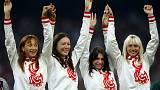 Rusia se queda sin el oro de Londres 2012 en 4x100 relevos por dopaje