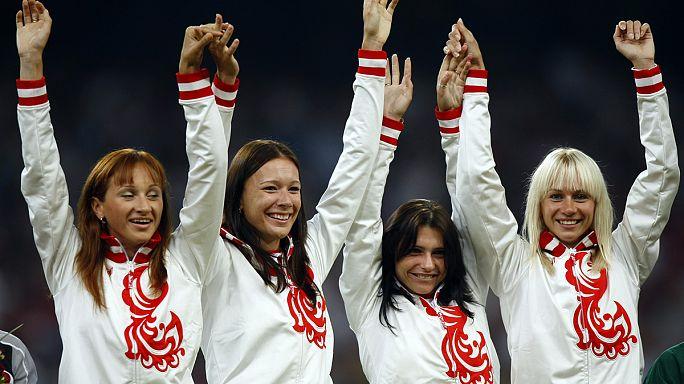 تجريد روسيا من ذهبية سباق 100 متر تتابع 4 مرات في أولمبياد بكين بسبب المنشطات