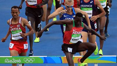 Rio 2016: Kipruto bags Gold for Kenya, sets new Olympic 3000m record