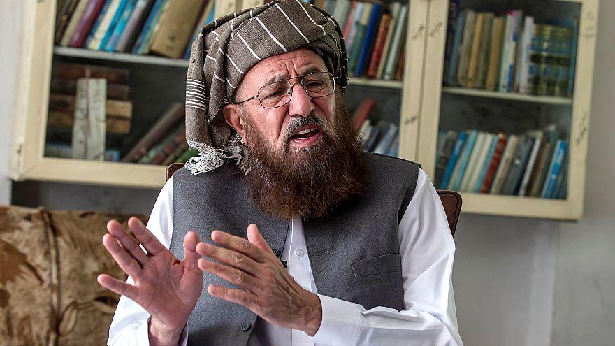 Image: FILE PHOTO: Maulana Sami-ul Haq, a Pakistani cleric and head of Daru