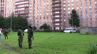 مرگ ۴ شبه نظامی در عملیات ضد تروریستی در سن پترزبورگ