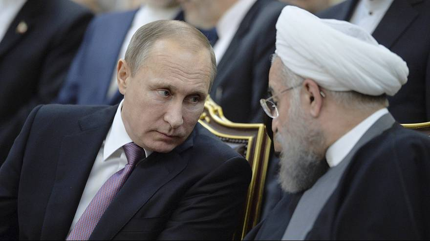 Why has Iran let Russia use its bases for bombing Syria?