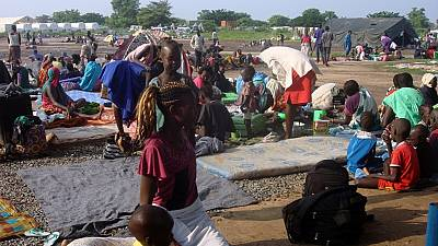 Over 30,000 displaced South Sudanese under UN protection